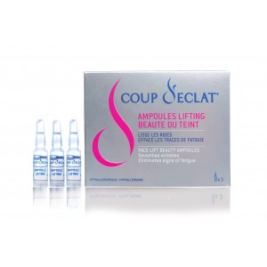 Lifting Ampollas Coup d'Eclat®  antiarrugas (Caja de 3)